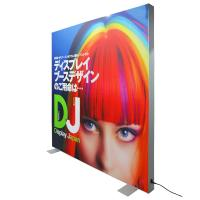 Buy cheap Fabric Advertisement Light Box Textile Backlit Frame Double Visible Surface product