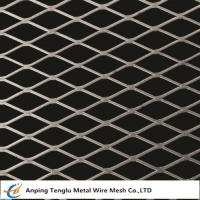 Buy cheap Flattened Expanded Metal Mesh|Diamond Shaped Opening 0.5~6mm Thickness product