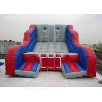 Buy cheap 6m PVC Outdoor Inflatable Sports Games Arena Track for Kids / Adults , Durable And Aafety product