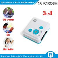 Buy cheap Personal child anti kidnapping gps tracker for kids elderly big sos button reachfar rf-v16 product