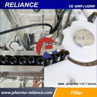 Buy cheap Shanghai Reliance 5ml,10ml essential oil amber glass bottle filling capping from wholesalers