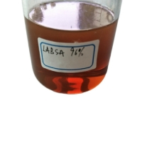 Buy cheap CAS 68584-22-5 LABSA 96% Ionic Surfactants Linear Alkyl Benzene Sulphonic Acid product