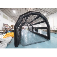 Buy cheap PVC Baseball Batting Cage Inflatable Sports Games For Kids Adults product