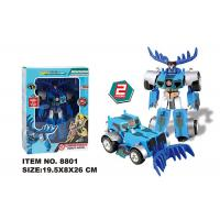 Buy cheap Multi Color Children's Transformer Toys Manual Deformation Robot Model Car product