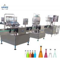 Buy cheap 1000 Bottles Per Hour Carbonated Drink Filling Machine Self Oil Lubrication from wholesalers