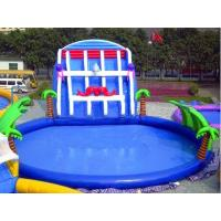 Buy cheap Adults PVC Inflatable Aqua Water Game Park With Slide product