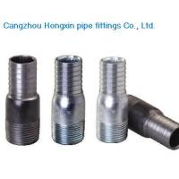China Galvanized swage nipples on sale