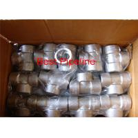 Buy cheap NPT ASTM A105 Forged Pipe Fittings Stainless Steel Withstand High Pressure product