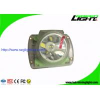 Buy cheap Transparent Color LED Mining Light , 3.7V Mining Cap Lights Long Life Time from wholesalers