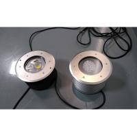 Buy cheap Embedded Installation Outdoor 24w Led Inground Lights Stainless Steel Cover from wholesalers