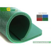 Buy cheap Outdoor Waterproof PVC Vinyl Flooring Green / Grey / Blue Gravel Style product