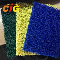 Buy cheap Looping Yarn Solid Color 100% PVC Flooring Carpet By Rolls / Pieces 11mm Thick product