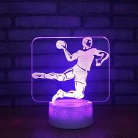 Buy cheap 2018 Unique and innovative led table lamp, Acrylic 3D laser led lamp night light from wholesalers