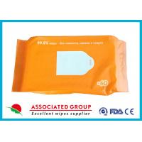 Buy cheap Cleaning Bathing Flushable Wet Toilet Wipes , Wet Wipes Toilet Paper Customized product
