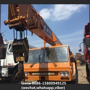 Buy cheap Kato Nk450e Second Hand Crane / Used Kato Mobile Crane No Oil Leaking product