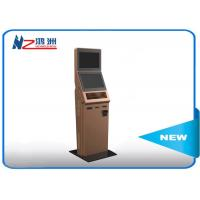 Buy cheap Customized smart design interactive information kiosk with RFID card product