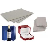 Buy cheap Recycled Laminated Grey Board for Wine Box  with Strong Stiffness from wholesalers
