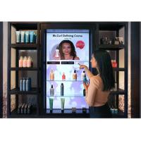 Buy cheap Shoes / Bags Interactive Video Wall LCD Screen Black Color For Store High from wholesalers