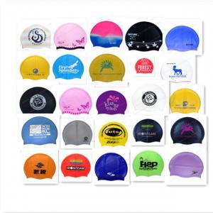 Buy cheap custom swim cap no minimum product