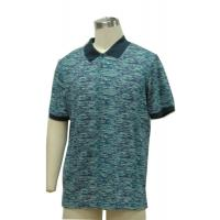 Buy cheap Fitted Mens Patterned Polo Shirts , Classic Polo Solid Color T Shirts 100% Cotton Slub Yarn product
