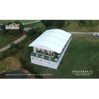 China Arch Tent 10x20m For  Outdoor Party Tent With Complete  Glass walls Accessories on sale
