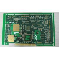 Buy cheap RoHS 1.0mm Impedance Control PCB Board Assembly Gold Finger For GPS Receiver product