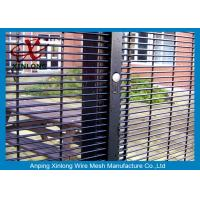 Buy cheap Anti - Cutting High 358 High Security Fence Dark Green Wire Mesh Panel 2000 from wholesalers