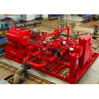 Buy cheap ESF 65-20 End Suction Fire Pump Assembly Skid Mounted Fire Pump product