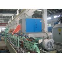 Quality Straight Seam Welded Tube Mill Line 7 - 18 mm OD , Carbon Steel Pipe Mill Production Line for sale