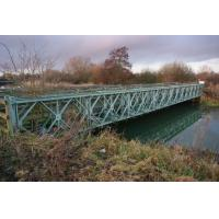 Rapid Build Long Span Bridges Pins Connection Portable Steel Truss Bridge