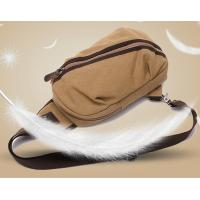 Buy cheap Cross Body Chest Single Strap Backpack With Eco Friendly Washed 16 Ozs Cavans from wholesalers