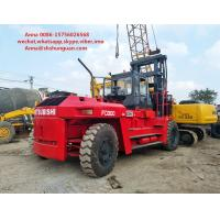 Buy cheap Flexible Used Industrial Forklift , Mitsubishi 6D24 Used Counterbalance Forklift product