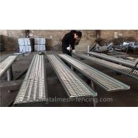 Buy cheap Hot Dipped Zinc Coated Girp Strut Grating 4mm Thickness Heavy Duty Grating from wholesalers