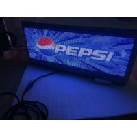 Buy cheap Three sided digital top Taxi LED Display surpport USB/3G/WIFI , Steel / Aluminum Material product