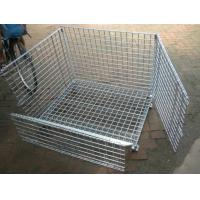 Buy cheap Removable Wire Mesh Container,Foldable Metal Mesh Cage,50x50mm,Galvanized or PVC product