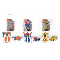 "Buy cheap 7 "" Mini Plastic Deformation Robot Vehicle Car To Robot Transformer Toy 11 Styles product"
