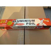 Buy cheap Non Toxic Aluminum Foil Wrapping Paper Environment Friendly For Fresh Keeping product