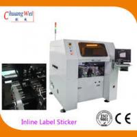 China Multi Function PCB Labeling Machine , 0.05mm Vision Odd Form Sticker Mounter on sale