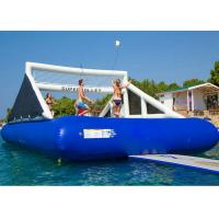 China 0.9 mm PVC Tarpaulin Inflatable Water Game / Inflatable Volleyball Game on sale