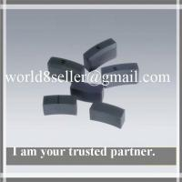 Buy cheap Sintered arc segment ferrite magnets from wholesalers