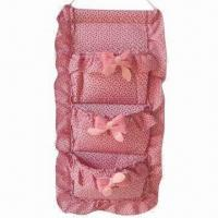 Buy cheap Hanging Closet Organizer/Hanging Bag, Made of Cotton, Ideal for Storage product