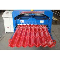 Buy cheap Hydraulic Wave Roof Glazed Tile Roll Forming Machine / Roll Form Equipment product