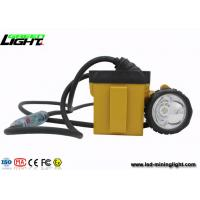 Buy cheap High Brigthest Safety Coal Led Mining Cap Lights Fast Charging  IP68 Miner Headlamp product