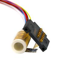 Buy cheap CE 12 Circuits Electrical Swivel Connector Slip Ring With Large Insulation Resistance from wholesalers