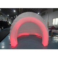 Buy cheap 3m White Oxford Cloth Inflatable Bubble Igloo Dome Tent With Led Light product