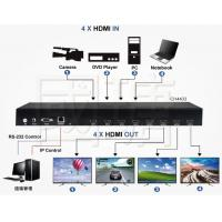 Buy cheap HDMI Video Wall Controller & Matrix Multi Viewer Switch Support 4K 30HZ product