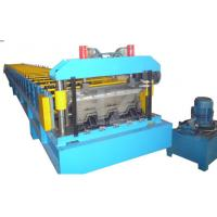 Buy cheap Steel Structure Floor Deck Roll Forming Machine For Roof Deck , Steel Tile TW-FD1250 product
