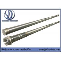 Buy cheap Stainless Steel Slot Tube Candle Filter With End Fittings product