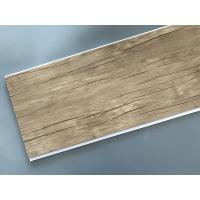 Buy cheap Wood Color Plastic Laminate Wall Covering , Pvc Laminated Ceiling Board product
