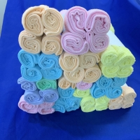 Buy cheap Rolled Small 29x29cm Towel Gift Sets product